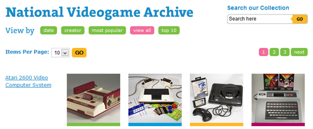National Videogame Archive