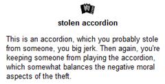 Stolen stuff