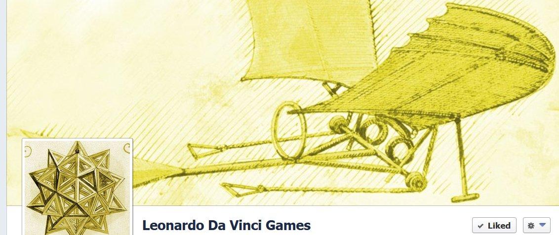 Da Vinci and games