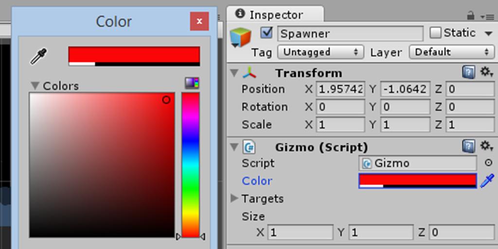 color control