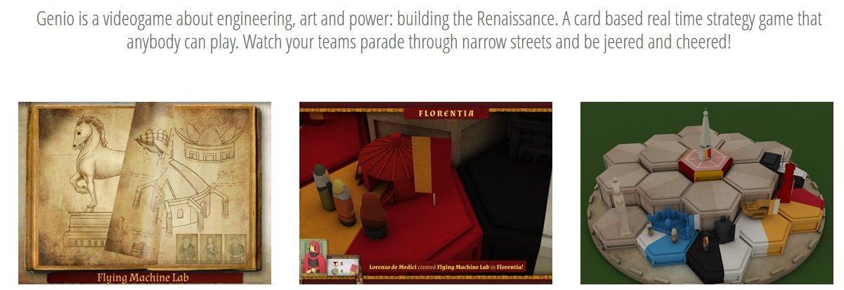 Genio game site