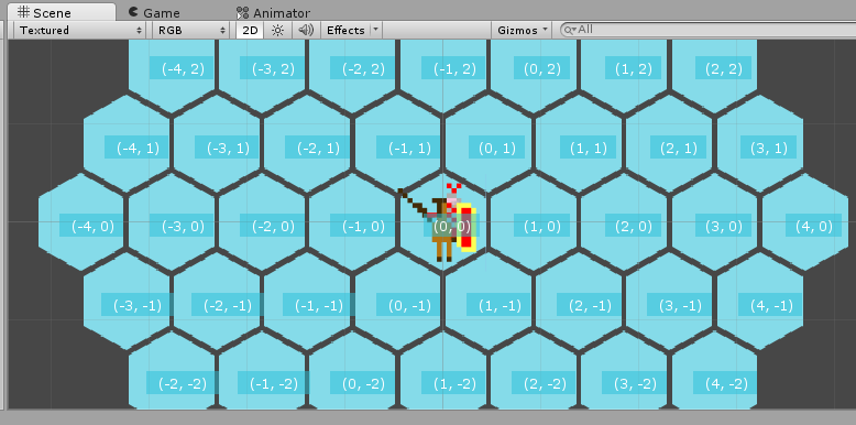 Game Development with Unity 2D – part 5: A grid of Roman