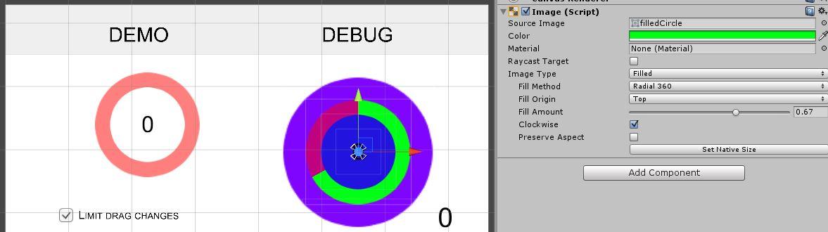 Circular Control Setup