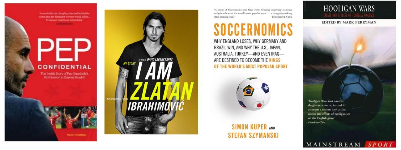 Books on the fotball universe