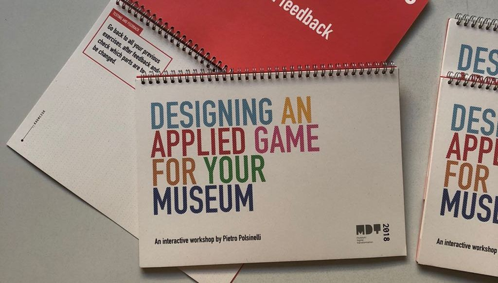 Designing an applied game for your museums - booklet
