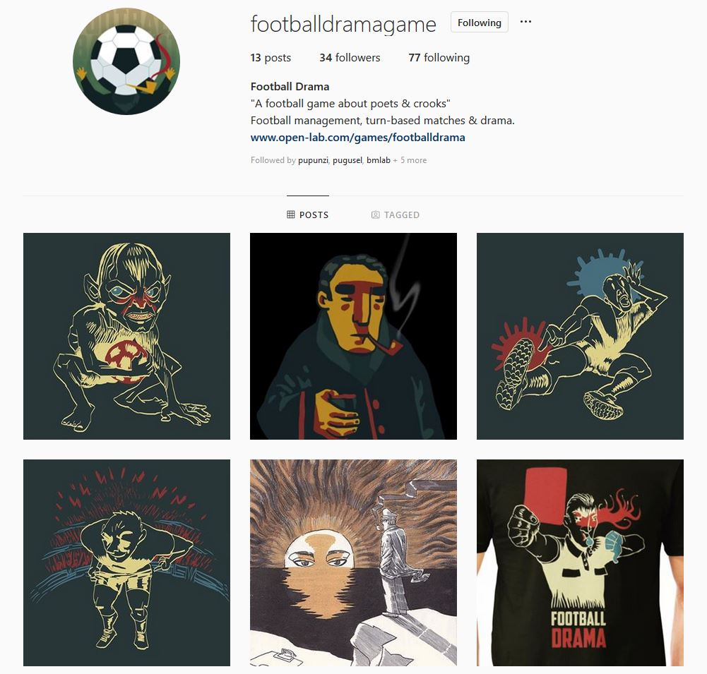 Football Drama Instagram