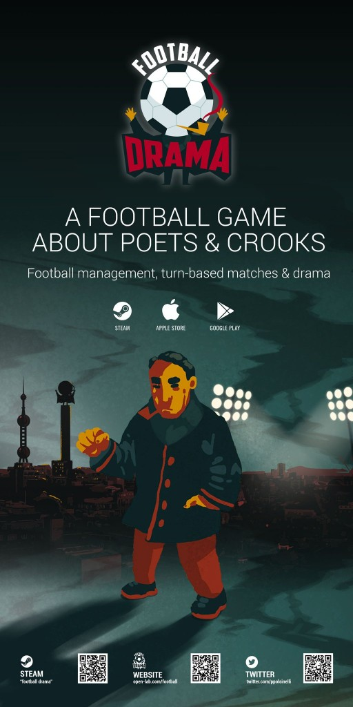 Football Drama booth background